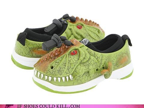 Animalia crocs dinosaur face ferocious kids teeth - 4179443712