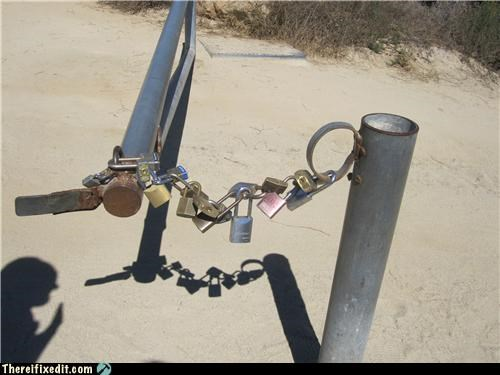 cautionary fail chain lock overkill - 4179602944
