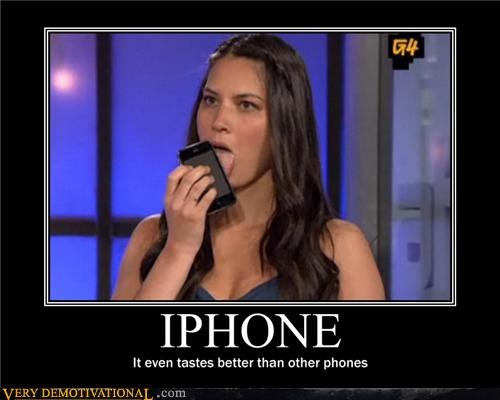 apple babe idiots iPhones taste wtf - 4179633408