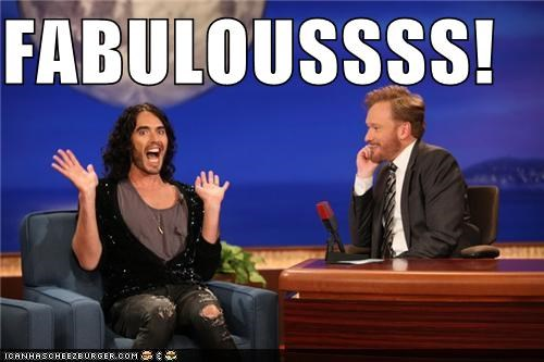 actor conan obrien lolz Russell Brand - 4179693568