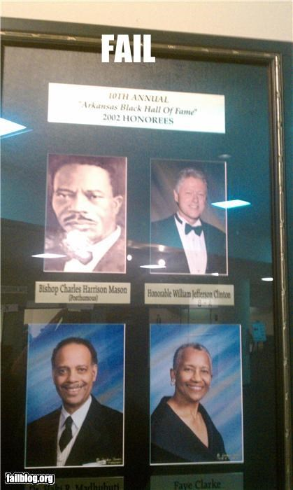 Black History Month failboat g rated Hall of Fame oh arkansas president bill clinton