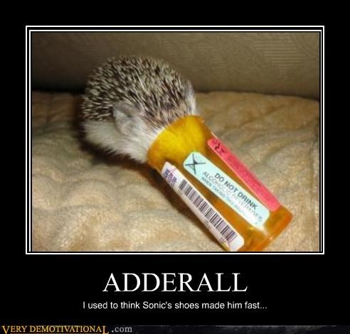 adderall,anthropomorphizing,destroying childhood,drugs,sonic
