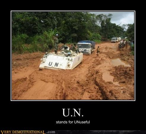 U.N. stands for UNuseful