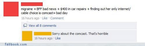 comcast lol witty comebacks