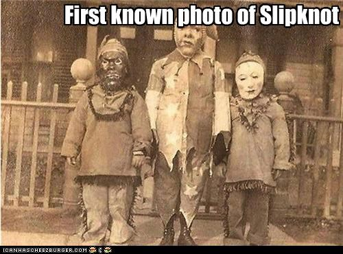 awful band costume kids slipknot - 4181325312