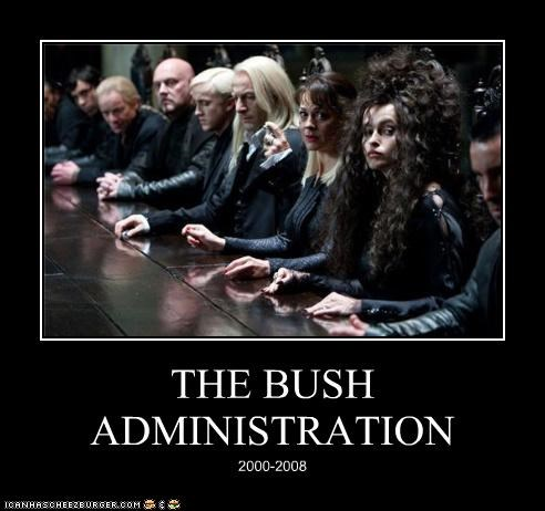 THE BUSH ADMINISTRATION 2000-2008