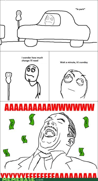 comics Memes sunday win - 4182032128
