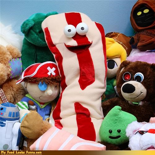 bacon bacon doll bacon toy doll Plush plush bacon toy