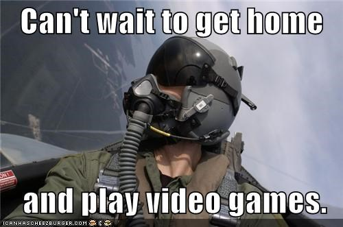 funny lolz military pilot video game - 4183151872