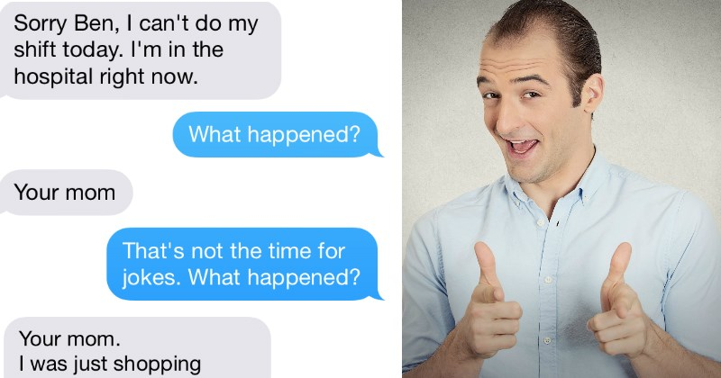 Guy Tells 'Your Mom' Joke to Boss to Get Out of Work and It Ends Up Not Being a Joke