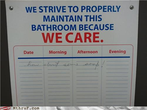 bathroom notes signs soap - 4183618816