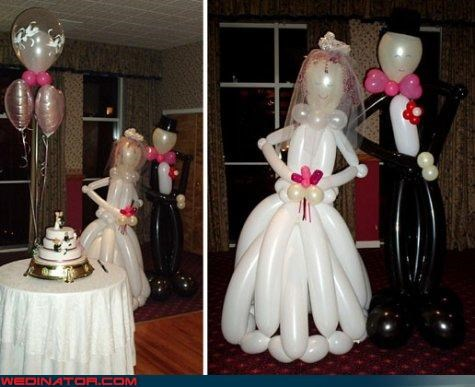 balloon bride balloon groom bride complex bride and groom cute balloon couple fashion is my passion funny wedding photos groom inflated bride and groom surprise were-in-love wedding decor Wedding Themes wtf wtf is this - 4184224256