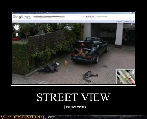 awesome,cars,dogs,google,photobomb,street view,the internets,wtf