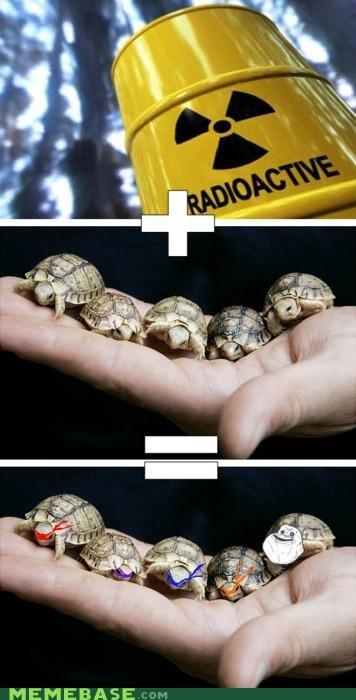 forever alone heroes on the halfshell Memes teenage mutant ninja turtles turtle power - 4184436480
