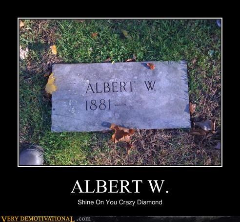 albert Death eternal life grave yard pink floyd - 4185179392