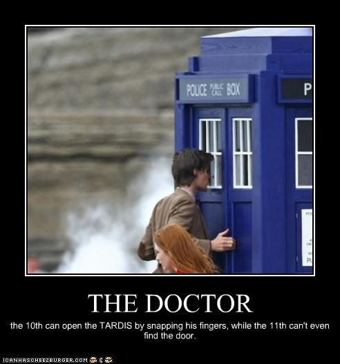 demotivational doctor who funny Hall of Fame lolz Matt Smith sci fi tardis - 4185440768