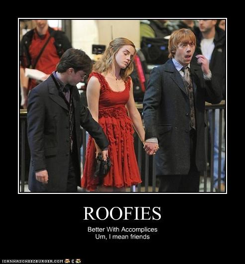 actor celeb Daniel Radcliffe demotivational emma watson rupert grint - 4186845952