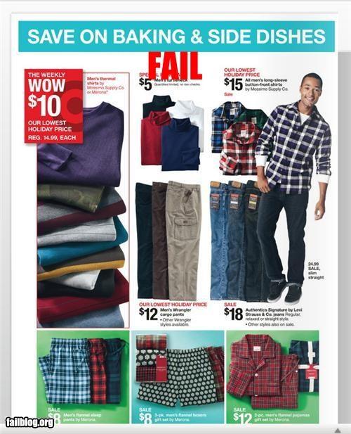 Ad baking christmas clothes failboat g rated holiday - 4187055872