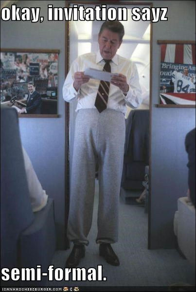 fashion president republican Ronald Reagan wtf - 4187149568