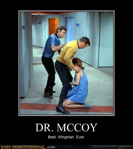 DR. MCCOY Best. Wingman. Ever.