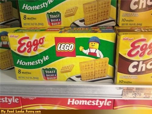 box breakfast eggo lego wafles - 4189289216