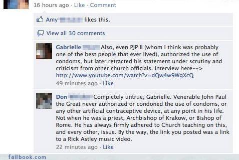 facepalm lol misunderstanding really religion you missed something - 4189428480