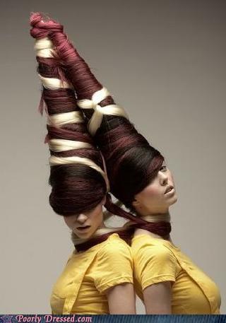 hair weave weird wig - 4189492224