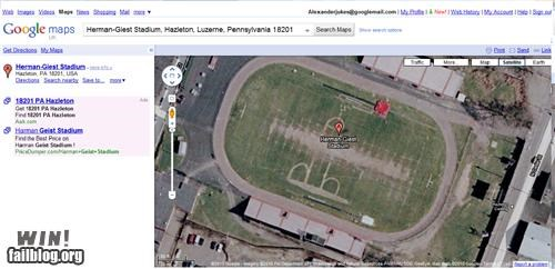 football,google,google maps,penis