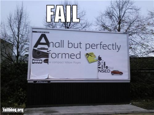 billboard,failboat,g rated,poor planning,sign