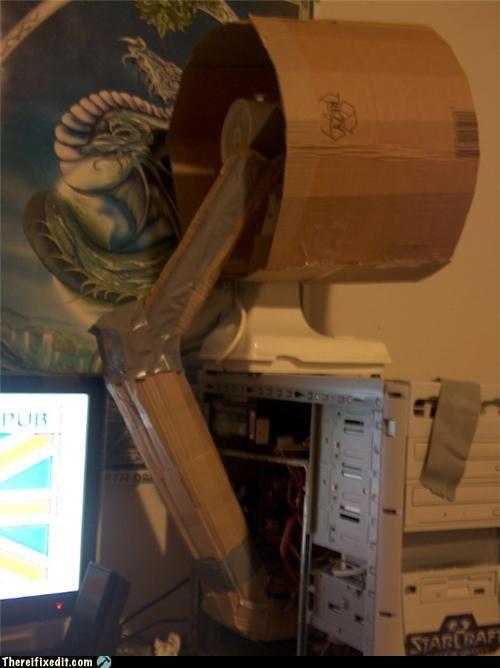 cardboard computer fan - 4190314752