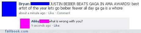 facepalm justin bieber listen to your friends lol oh snap your friends are laughing at you - 4190467584