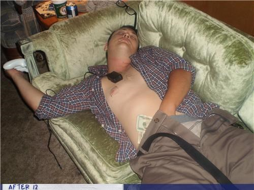 money,passed out,undies,wtf
