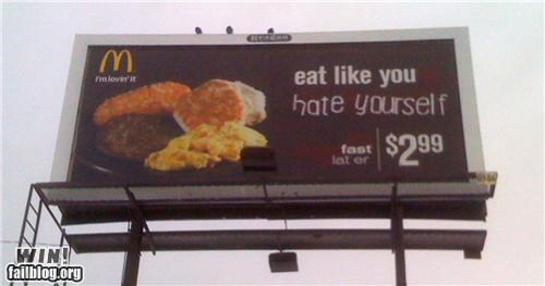advertisement billboard hacked McDonald's - 4190635008