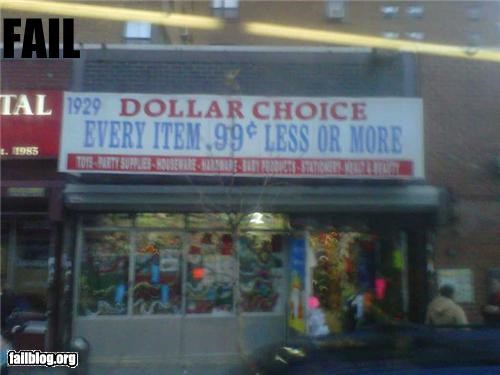 dollar store failboat g rated prices really signs - 4190911744