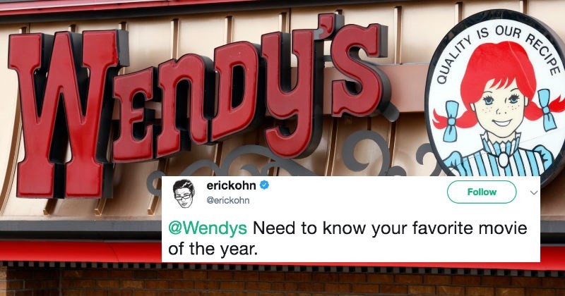 Wendy's is reviewing movies on Twitter and the results are pure gold.