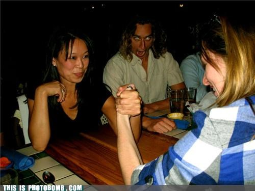 arm wrestling awesome drinking i wish this existed in reality movies over the top photobomb - 4193068544