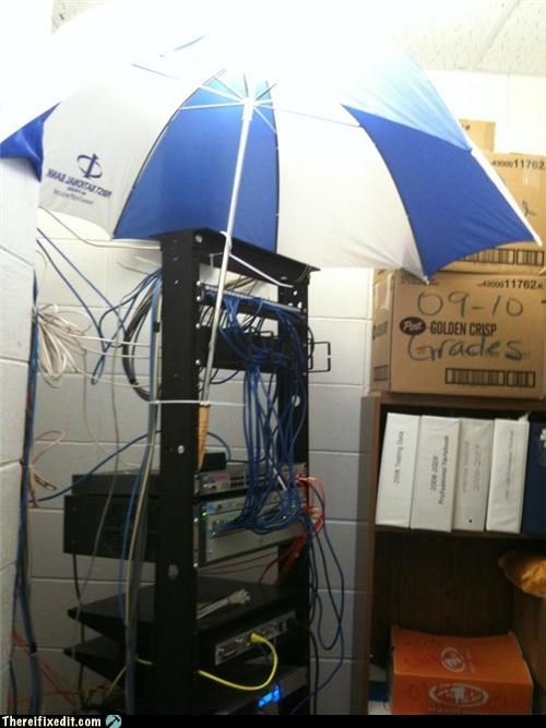 leak Professional At Work technology umbrella