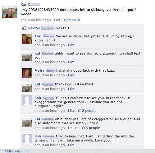 busted dad lol Overshare parents - 4193478912