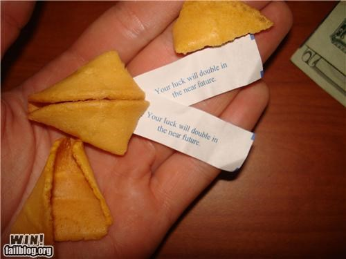 double,food,fortune cookie