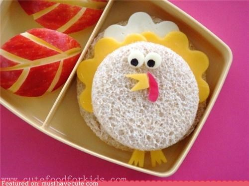 bento epicute lunch sandwich thanksgiving Turkey - 4193594368