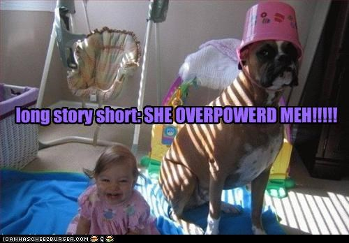 baby boxer bucket excuse explanation Hall of Fame head long long story short overpowered short story - 4194394624