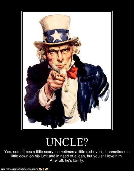 america demotivational funny lolz Uncle Sam - 4195693824