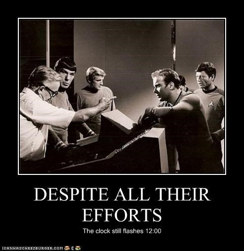DeForest Kelley demotivational Leonard Nimoy lolz sci fi Shatnerday Star Trek William Shatner - 4196929792