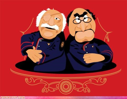 art Battlestar Galactica funny Hall of Fame The Muppet Show - 4197155840