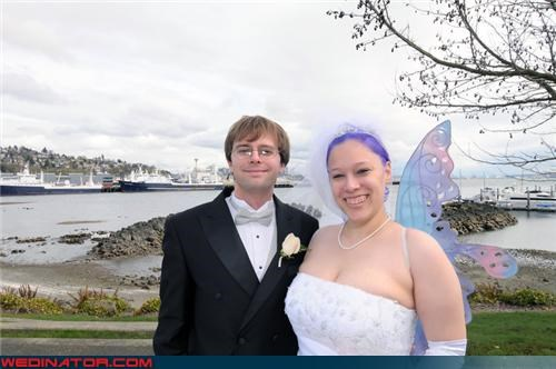 bride Crazy Brides fashion is my passion funny wedding photos groom surprise were-in-love Wedding Themes wtf - 4197263360