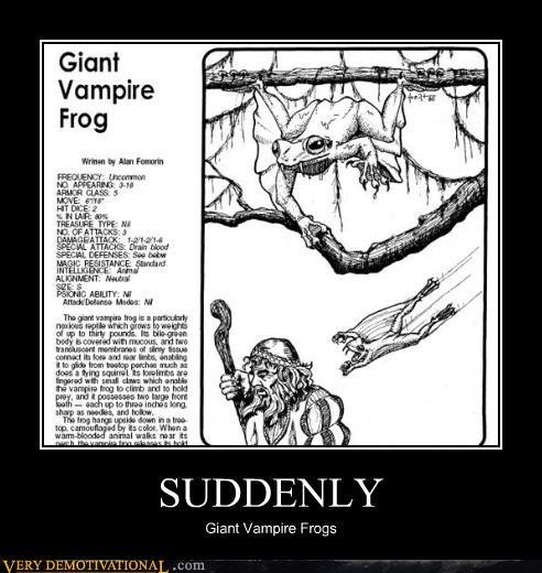 dd frogs giants monster suddenly vampires - 4197849344