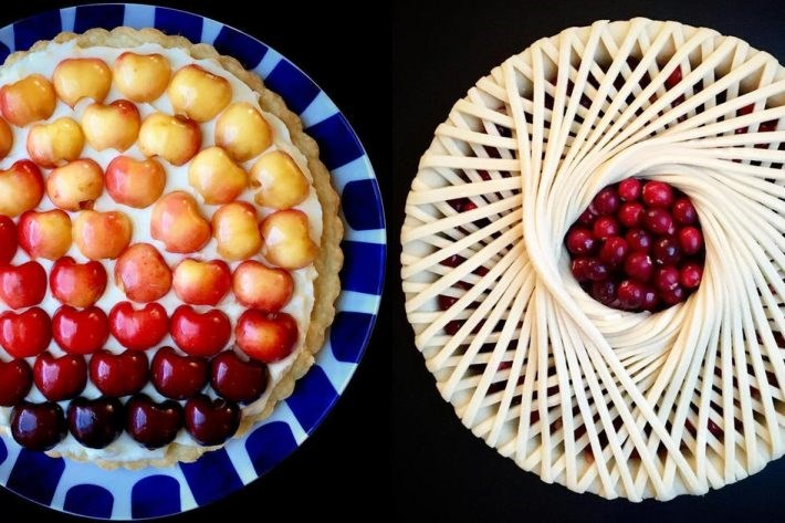 creative pies