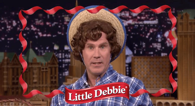 jimmy fallon Tonight Show little debbie funny Video Get Hard Will Ferrell - 419845