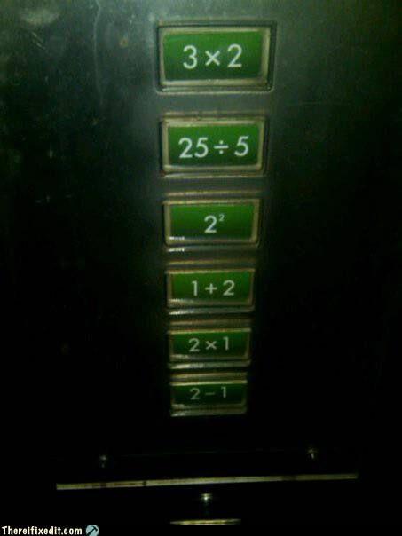 clever elevator math - 4198774784