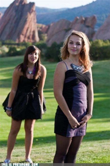 derp,formal,photobomb,pretty,scenic